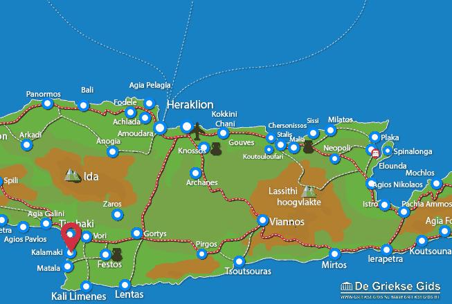 Karte Kalamaki