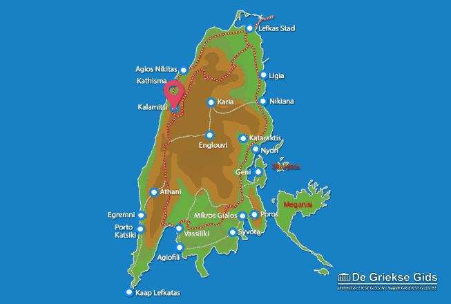 Karte Kalamitsi