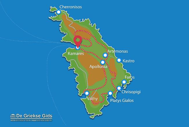Karte Kamares