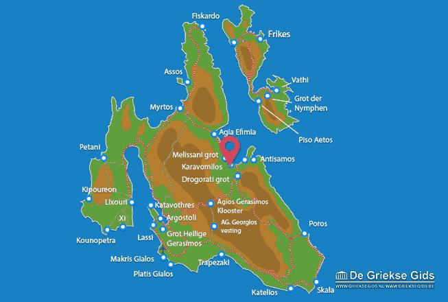 Karte Karavomilos