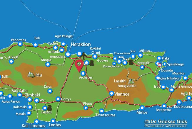 Karte Katalagari