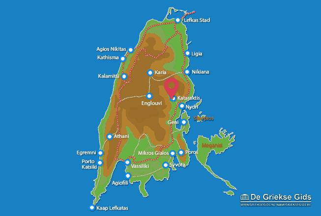 Karte Kataraktis