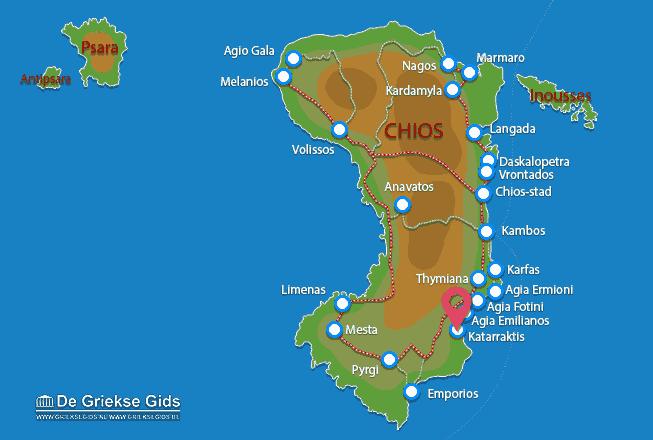 Karte Katarraktis