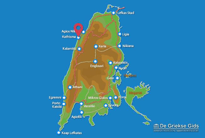 Karte Kathisma