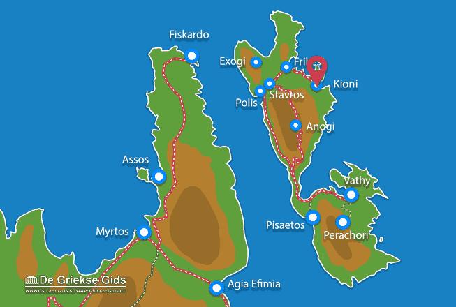 Karte Kioni