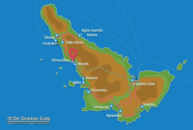 Karte Palio Klima