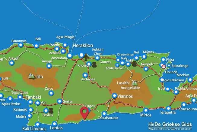 Karte Koudoumas