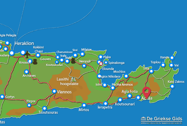 Karte Koutsouras