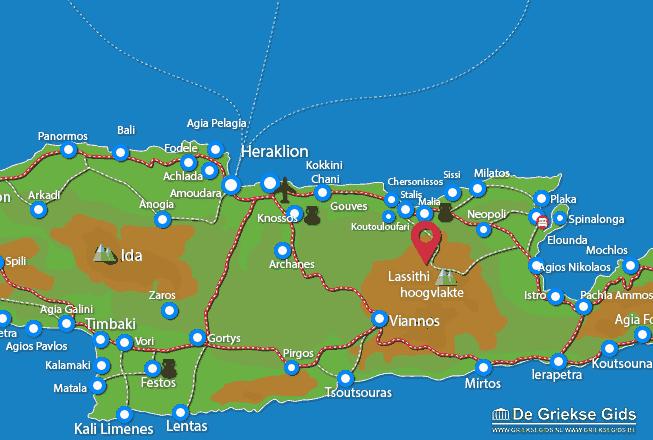 Karte Krasi