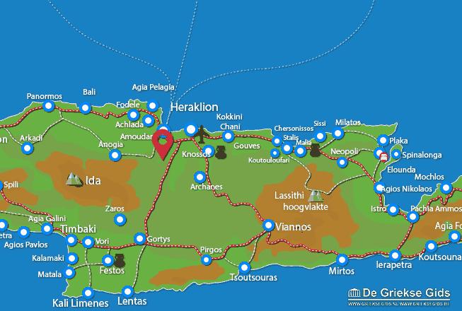 Karte Krousonas