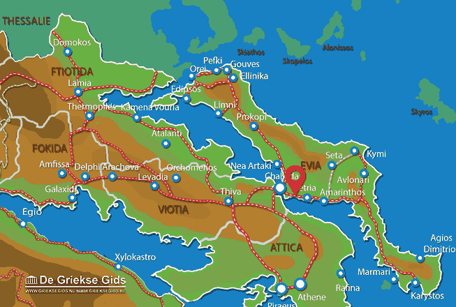 Karte Lefkandi