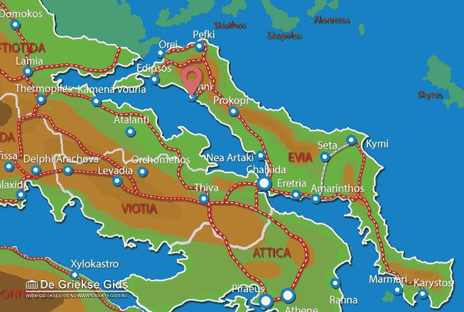 Karte Limni