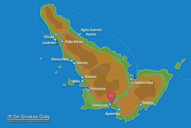 Karte Limnonari
