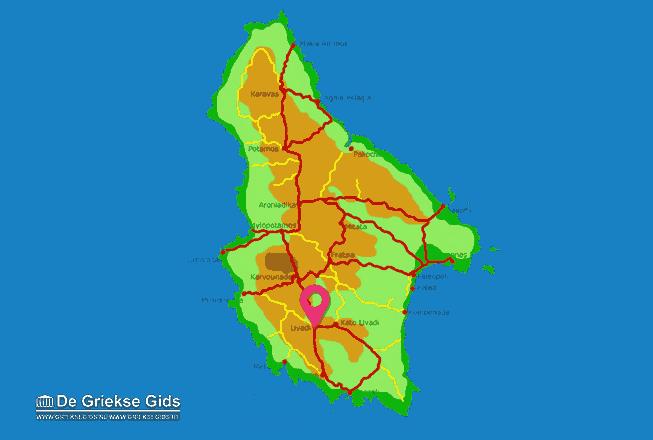 Karte Livadi
