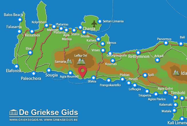 Karte Loutro