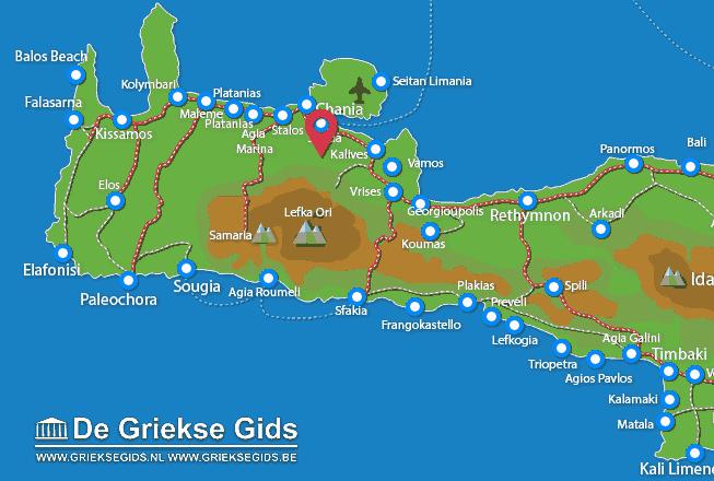 Karte Malaxa