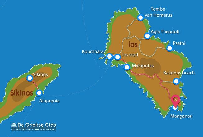Karte Manganari