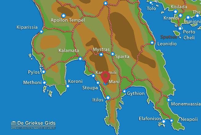 Karte Mani