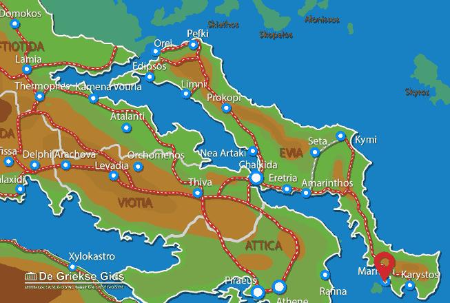 Karte Marmari