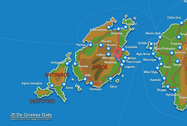 Karte Marpissa