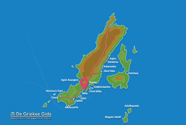 Karte Milia