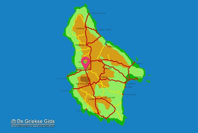 Karte Mylopotamos