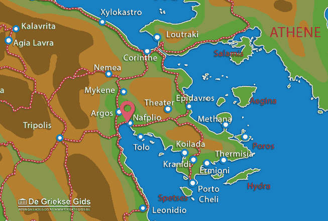 Karte Nafplion