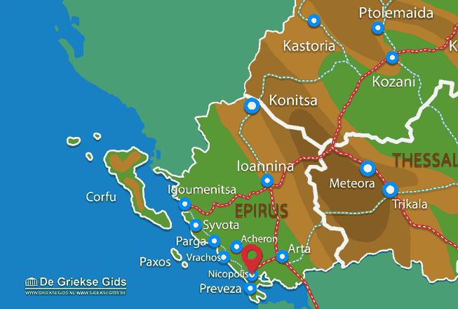 Karte Nicopolis