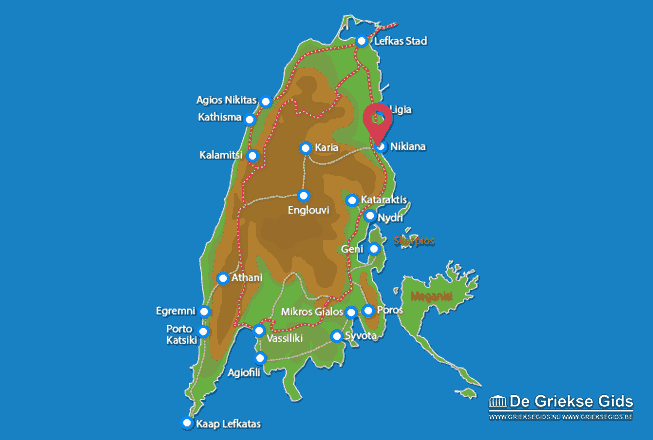 Karte Nikiana