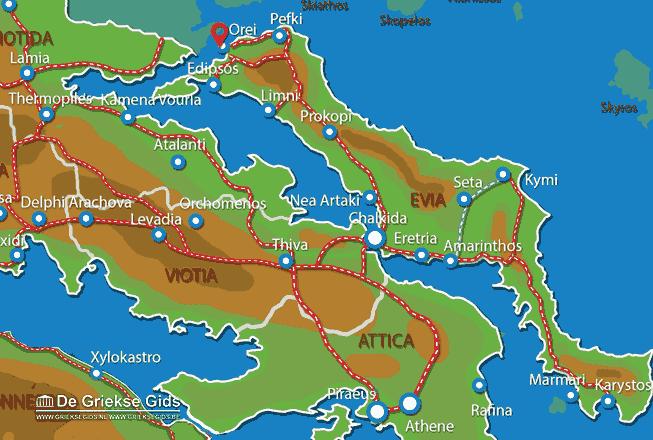 Karte Orei