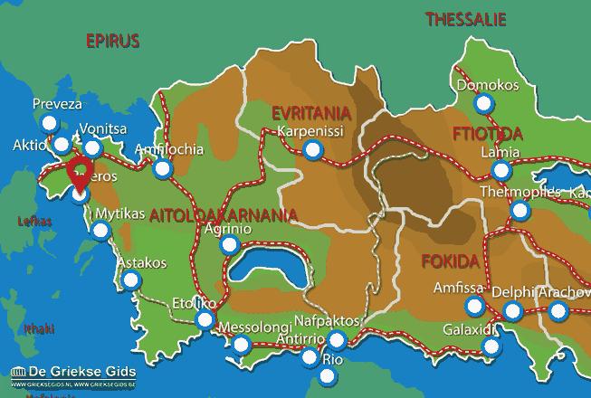 Karte Paleros
