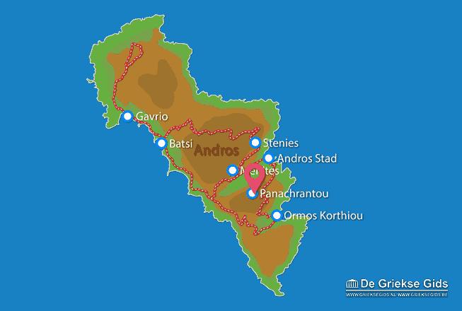 Karte Panachrantou