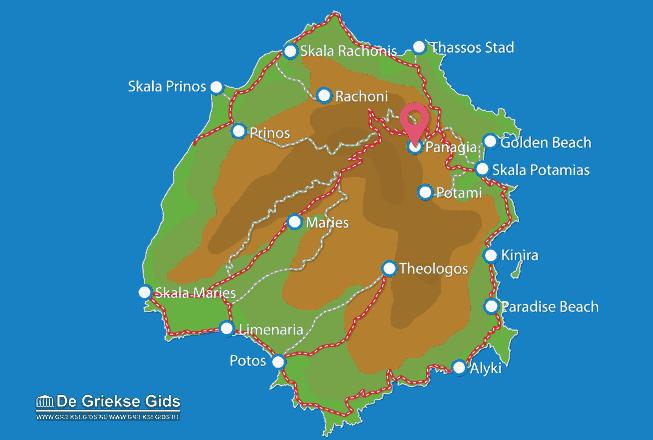 Karte Panagia