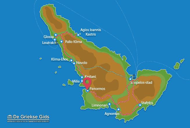 Karte Panormos