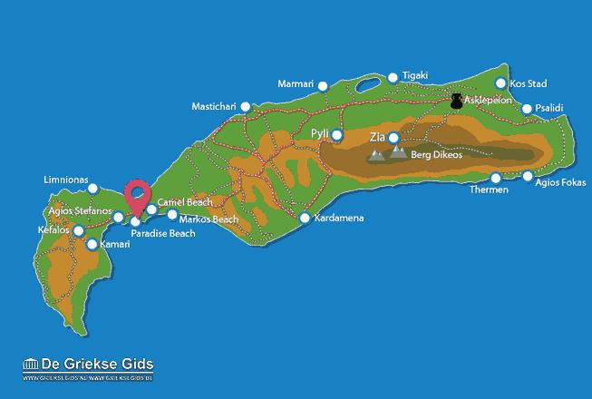 Paradise beach Kos | Urlaub in Paradise beach Griechenland