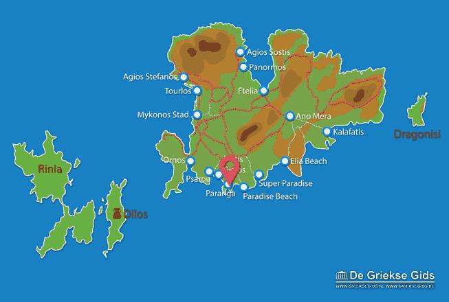 Karte Paranga