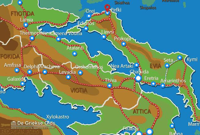 Karte Pefki