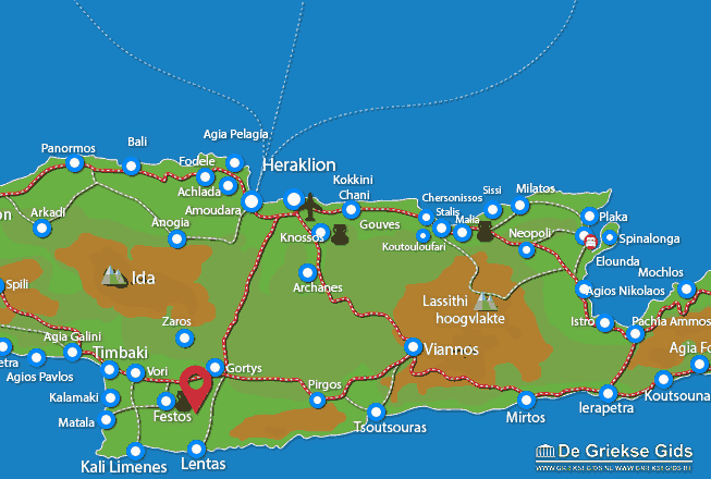 Karte Petrokefali