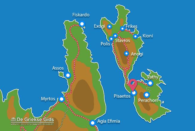 Karte Pisaetos