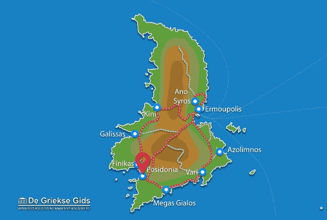 Karte Posidonia