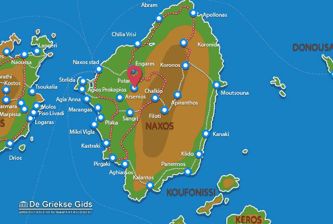 Karte Potamia