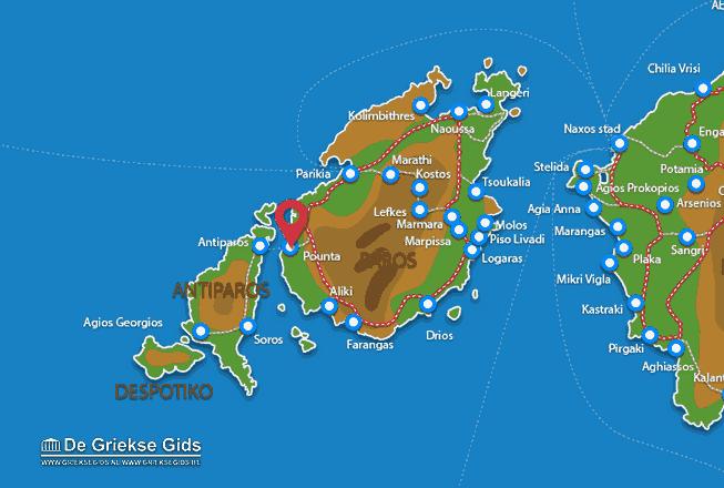 Karte Pounta