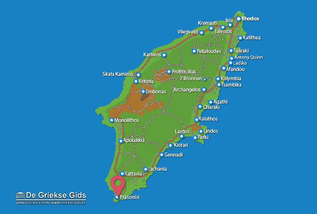 Karte Prasonisi