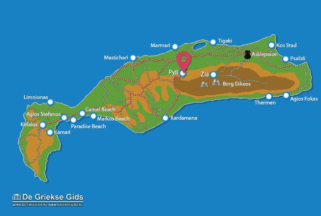 Karte Pyli