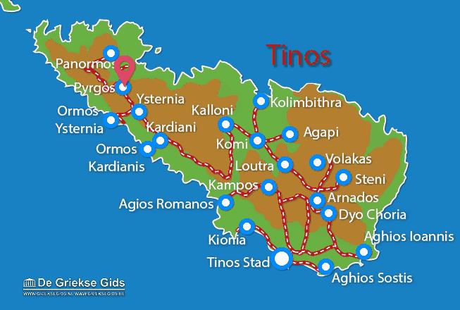 Karte Pyrgos