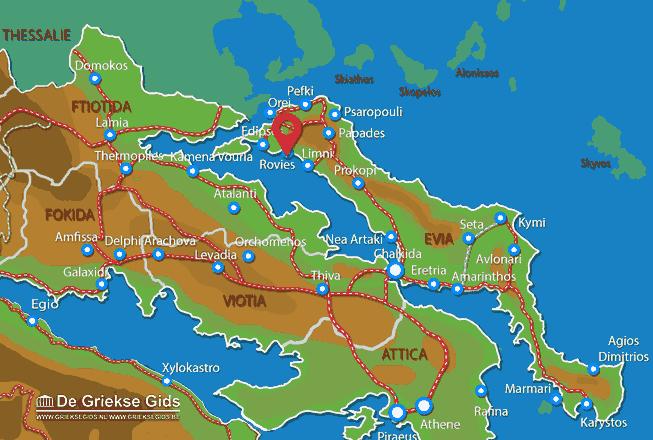 Karte Rovies