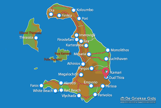 Karte Alt-Thera