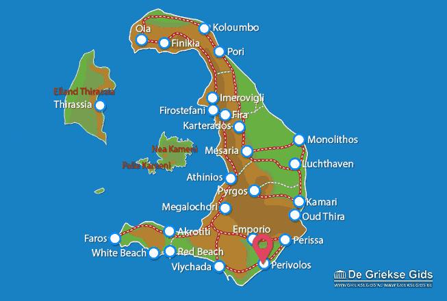 Karte Perivolos