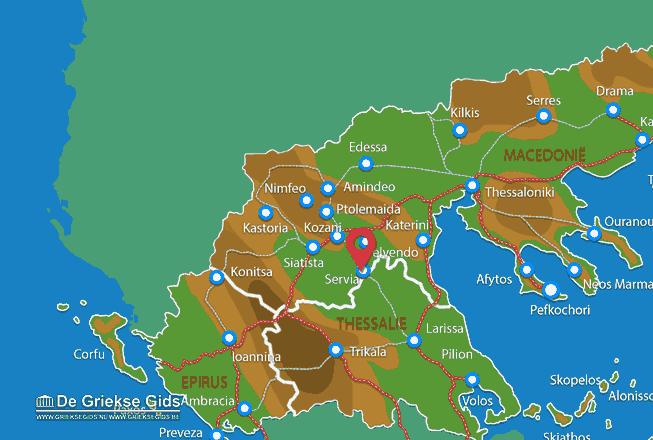 Karte Servia
