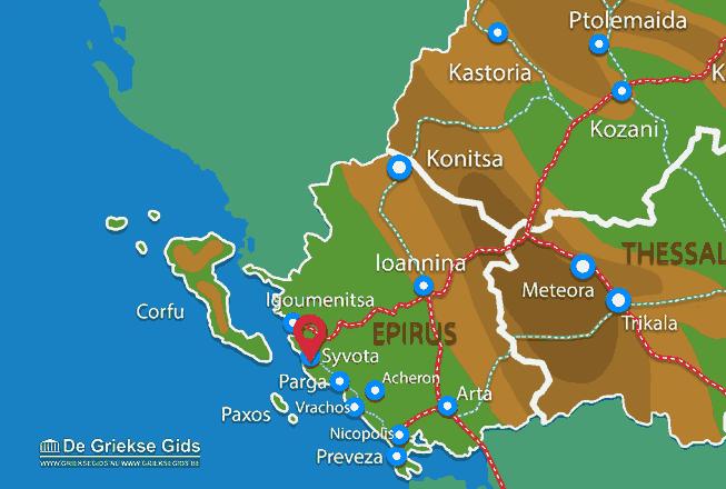 Karte Sivota